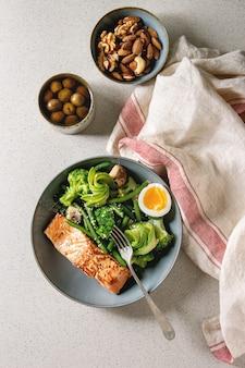 Ketogenic diet dinner