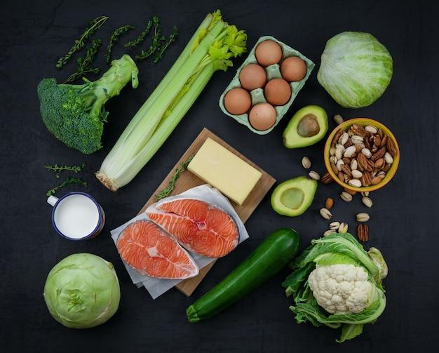 Кетогенная концепция диеты с низким содержанием углеводов