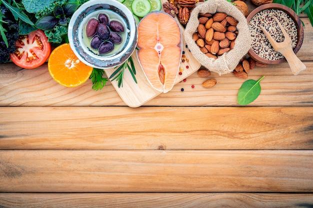 Кетогенная концепция диеты с низким содержанием углеводов.