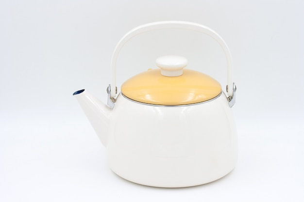 Kettle isolated on a white background