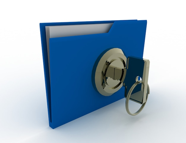 Ключ и папка. концепция безопасности данных