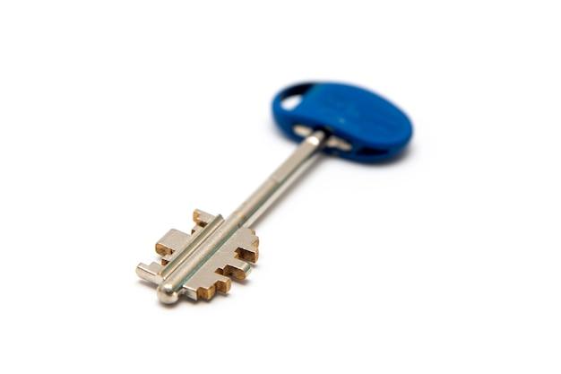 Key isolated on white