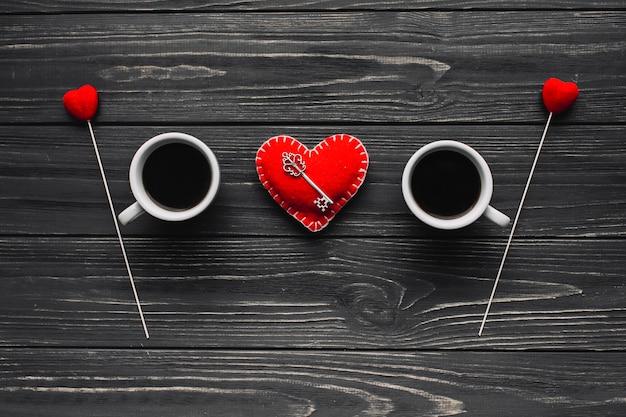 Ключ от сердца между кофе cus