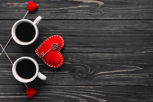 Ключ от сердца у кофе