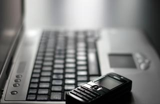 Keyboard and mobile phone