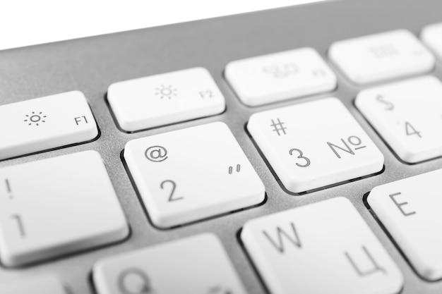 현대 노트북의 키보드, 가까이보기