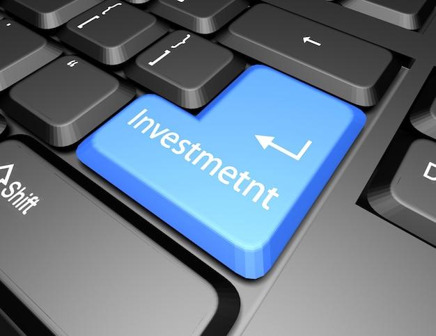 Клавиатура с кнопкой инвестирования
