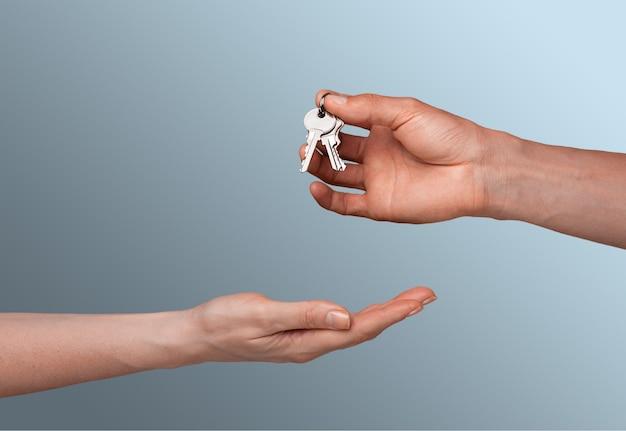 Ключи и руки
