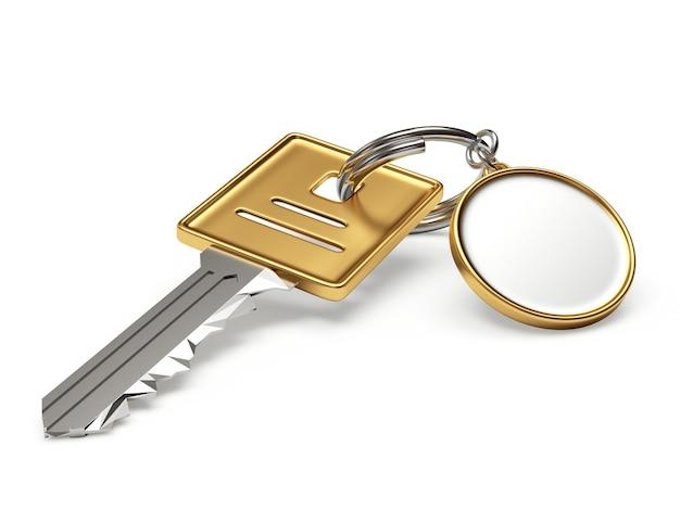 Ключи с пустой круглой цепочкой для ключей