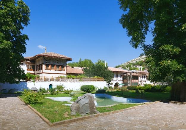 우크라이나 크림반도 바흐치사라이에 있는 칸의 궁전