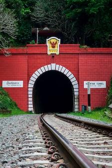 Khun tan railway tunnel in thailand