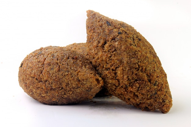 Kibbeh traditional lebanese cuisine food