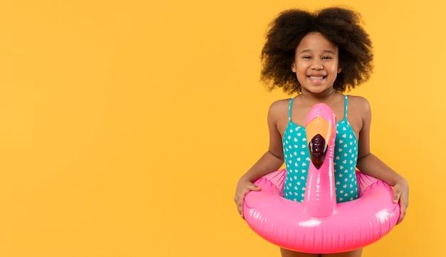 여름 설정 스튜디오에서 재미 아이 무료 사진