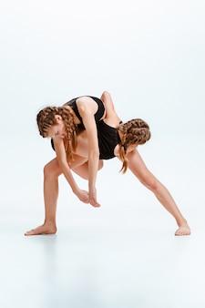 I bambini ballano la scuola, balletto, hiphop, street, ballerini funky e moderni
