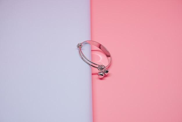 Детский серебряный браслет