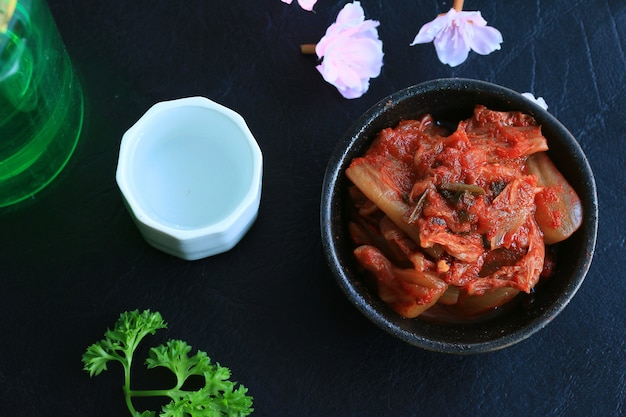 김치 양배추-한국 음식 프리미엄 사진