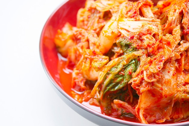 Kimchi, salted pickled korean style