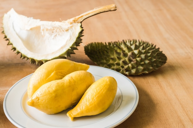 King of fruits, durian is a popular tropical fruit in asian countries.