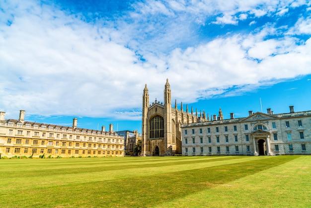 Часовня королевского колледжа в кембридже, великобритания