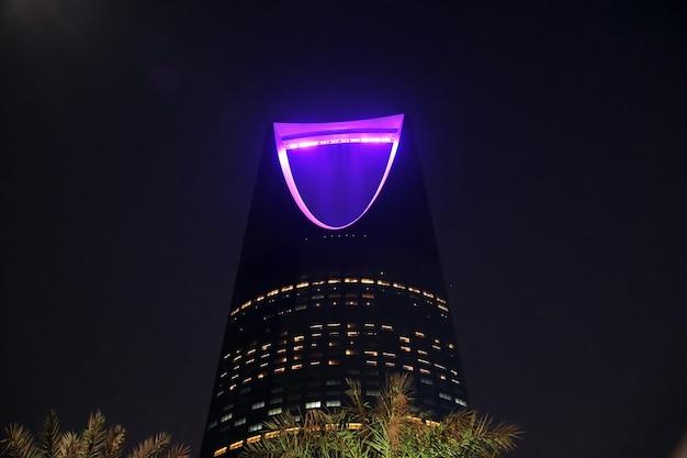 Kingdom centre burj al-mamlaka in riyadh, saudi arabia