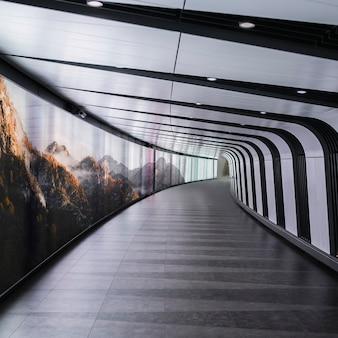 The kings cross tunnel empty