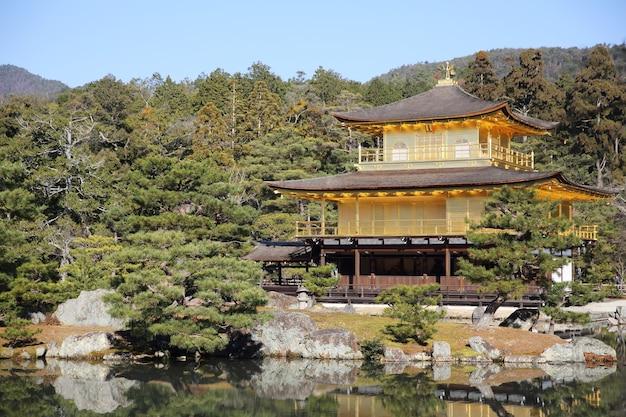 교토, 일본의 킨카쿠지 사원