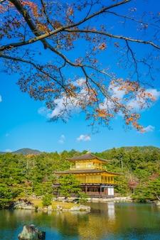 Kinkakuji Temple   The Golden Pavilion  in Kyoto, Japan