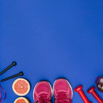 健康なスポーツマンのキット