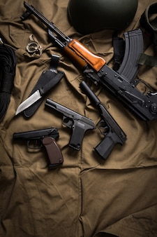 Комплект современной военной техники россии