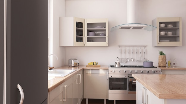 Kitchen Interior Vectors, Photos And PSD Files | Free Download