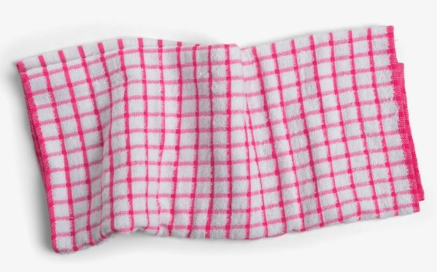 Kitchen napkin isolated on white background