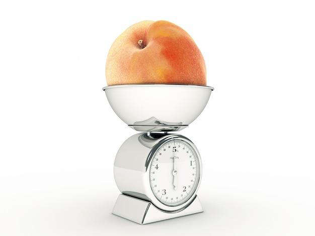 Кухонные весы с giant peach