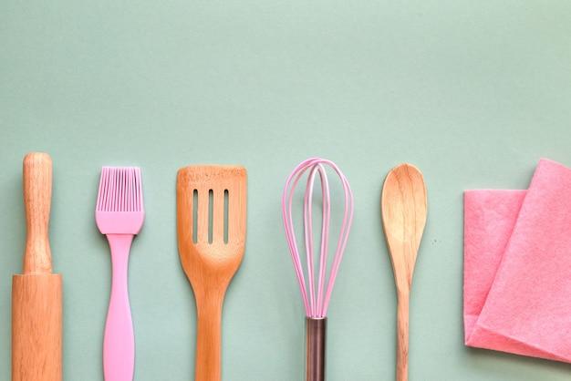 Кухонная утварь для пекарни с копией пространства