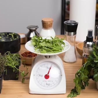 キッチン体重計