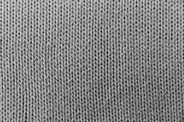 Kitting pattern surface with fibres