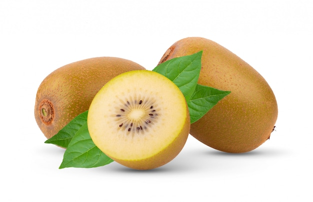 Kiwi gold isolated
