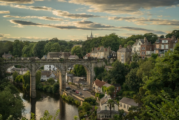 Knaresborough captured in north yorkshire