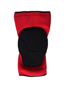 Knee pad isolated on white background. sport slip-on guard