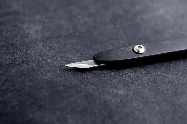 Нож для обработки кожи