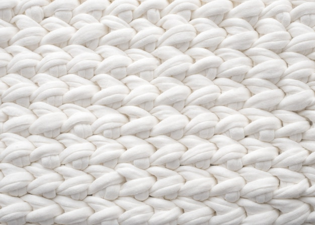 Knit background. white background.