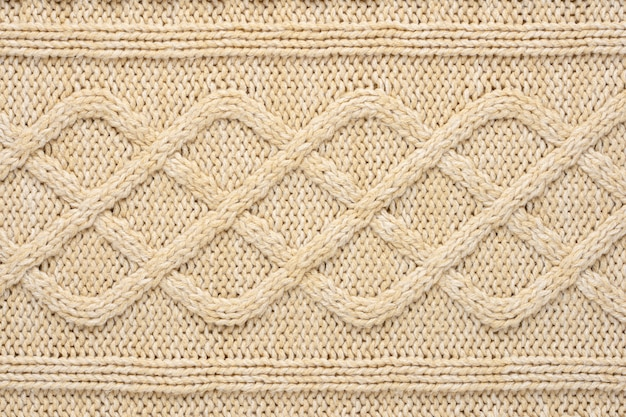 Knit fabric texture