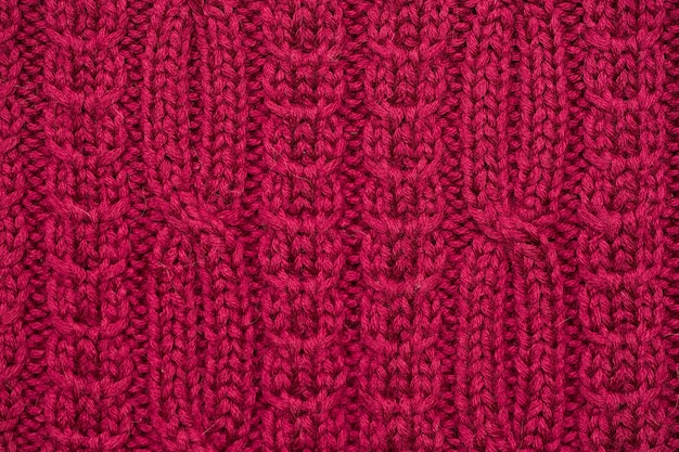 Knitted fabric background texture