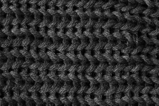 Knitted fabric pattern background