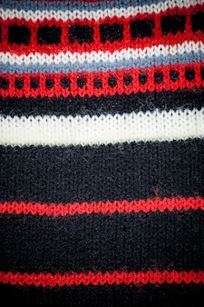 Knitted fabric texture background.