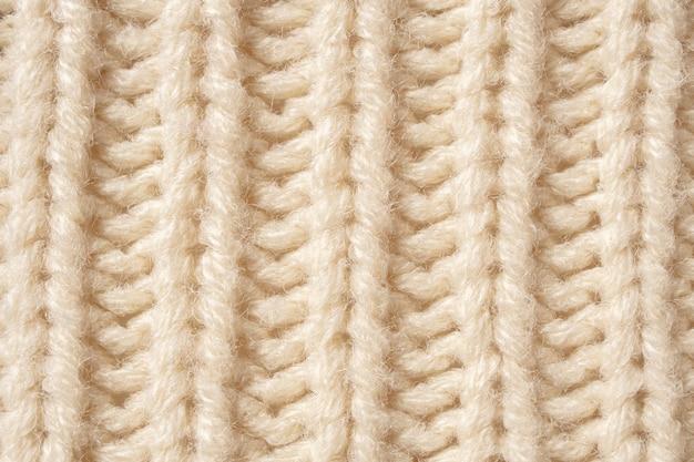 Вязаная шерстяная ткань текстуры фона