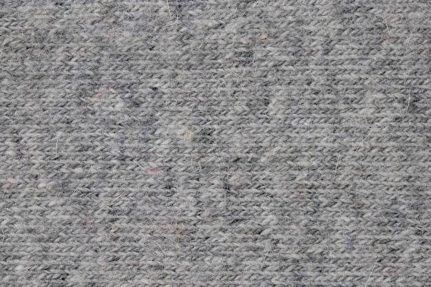 Knitted woolen fabric front surface textile background
