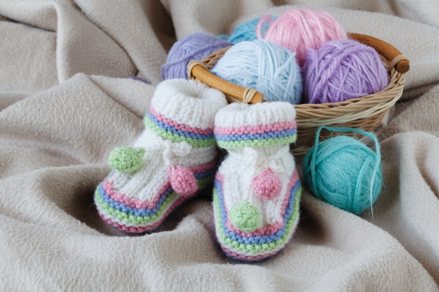 Knitting leisure in time of pregnancy