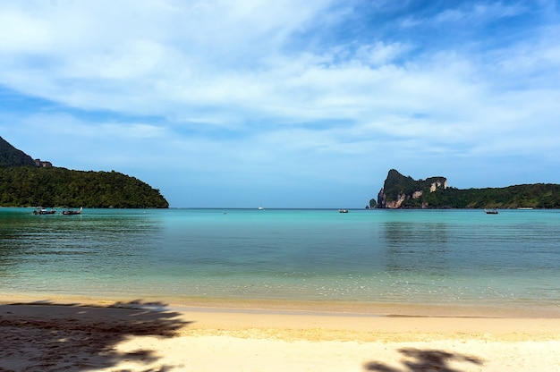 Ko phi phi don is the largest of the islands in the ko phi phi archipelago, in thailand.