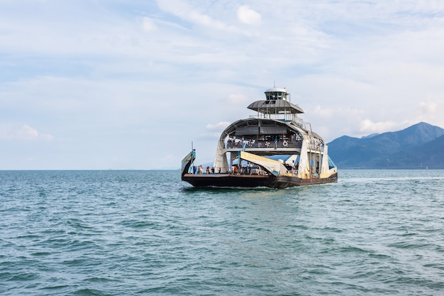 Koh chang thailand ferry boat