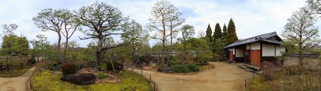 Koko-en garden landscape